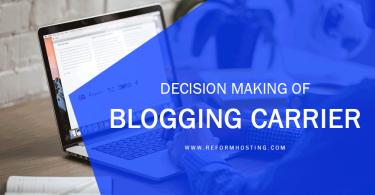Decision-making-of-Blogging-Carrier