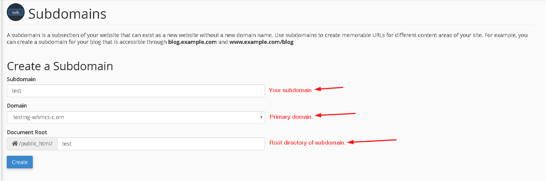 configure-subdomain-in-cpanel