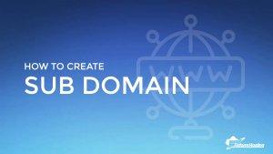 how-to-create-subdomain